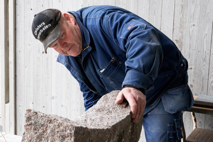 Christer Olsson, stenhuggare