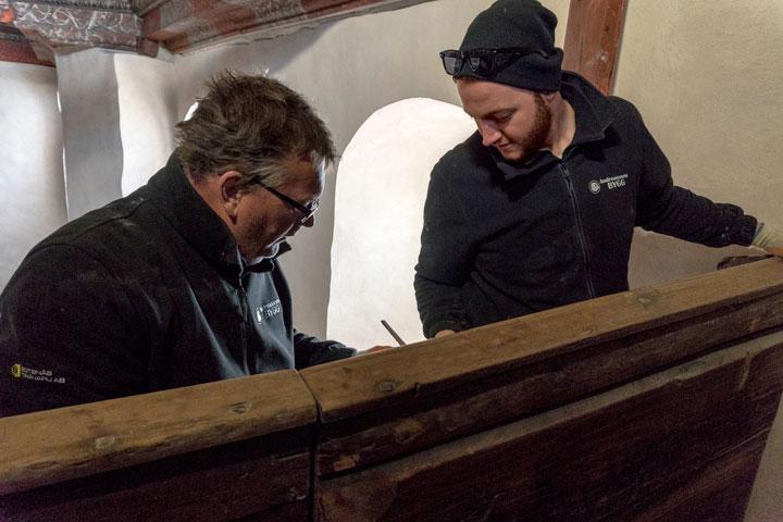 L-E Andreasson och Martin Fernström