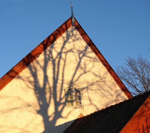 Svenneby gamla kyrka 1924 Foto: Dan Samuelsson
